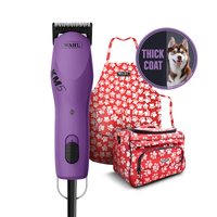 Wahl KM5 Professional Two Speed Clipper with FREE Wahl Large Grooming Case