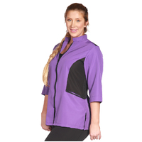 Ladybird Block Grooming Jacket Purple