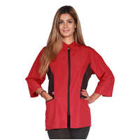 Ladybird Block Design Red Grooming Jacket