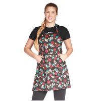 Ladybird Waterproof Dog Bathers Apron with Paw Prints