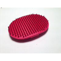 Show Tech Rubber Curry Brush Oval