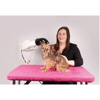 Show Tech Table Toga Cover Pink for 90x60cm Grooming Table Top