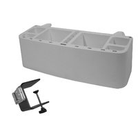 Kennel Gear HD Pro Supply Grooming Caddy with Large Table Attachment Mount
