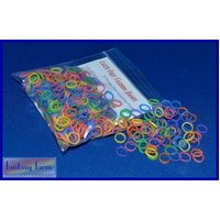 FF Latex Free Elastic Bands 5/16 Neon - 400 pack