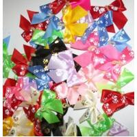 Groomers Bows PawPrint Bows 50 pack