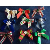 Christmas Deluxe TT Bows - Pack 50 Bows