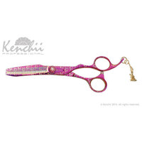 Kenchii Pink Poodle 44 Tooth Thinner Scissor