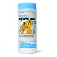 Petkin Jumbo Eye Wipes 80 pack