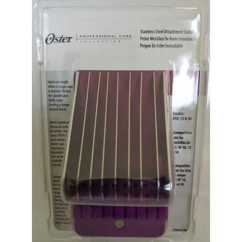 Oster 1 1/4inch (32mm) Stainless Steel Attachment Guide Comb
