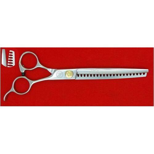 P&W Alpha & Omega 7in 21 Tooth Thinning Scissors