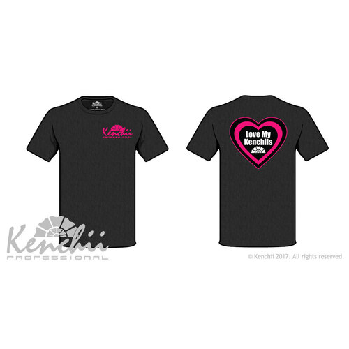 Love My Kenchii Tagless Tee Kenchii T-Shirt