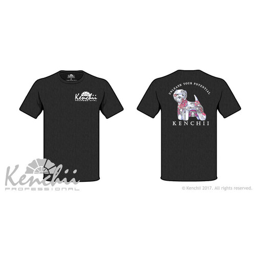 Westie Scorpion Art Tagless Tee Kenchii T-Shirt