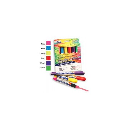 Davis Creme Chalk Pens Set of 6